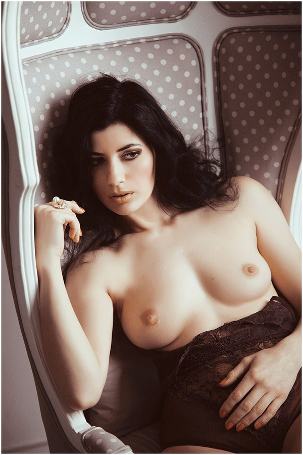 Real amateur girls getting naked or semi nude at home